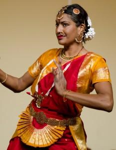 Sadhna als tempeldanseres